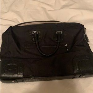 Gentle used briefcase